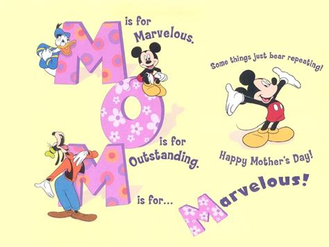 disney s day 50 mothers day pictures cards wishes 2015