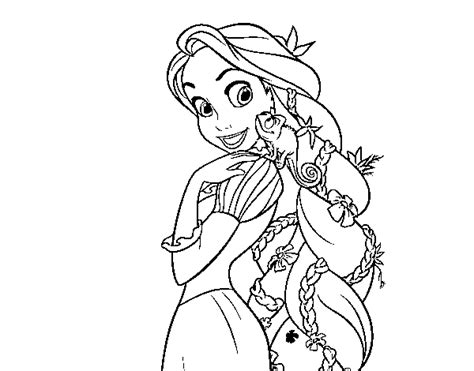 tangled pascal colouring pages