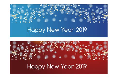 new year banner vector new year 2019 banners free vector stock