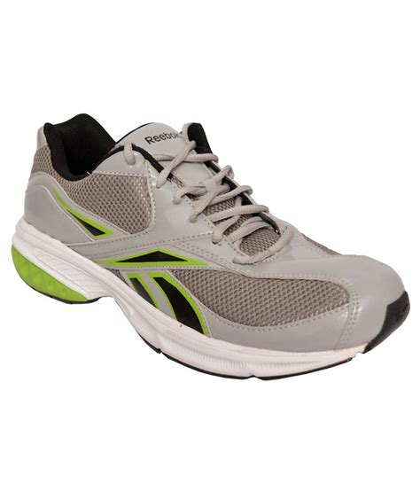 reebok sport shoes for reebok gray lace sport shoes price in india buy reebok
