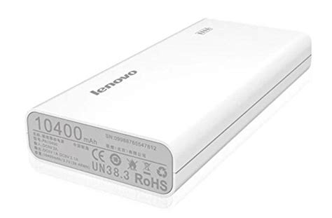 Power Bank Lenovo A369i 72 discount lenovo powerbank 10400 mah rs 1644 on