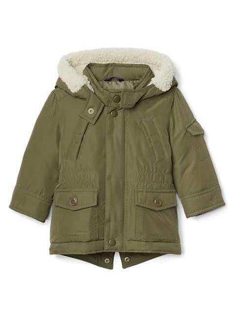 Parka Gap Green Original baby boy clothes gap 174 uk