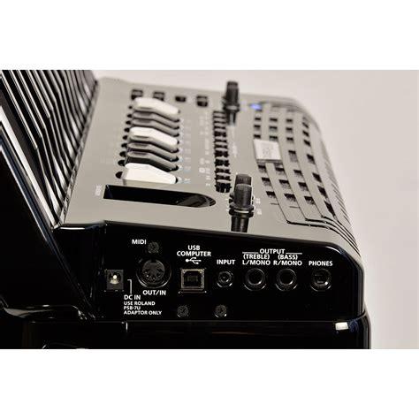 roland  accordion fr  bk acordeon de teclado