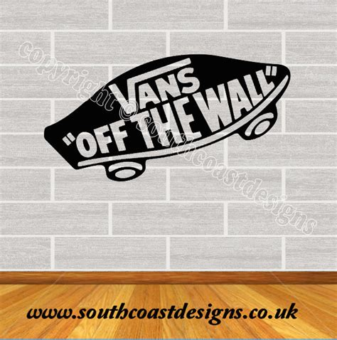 Vans Off The Wall Sticker vans off the wall wall sticker