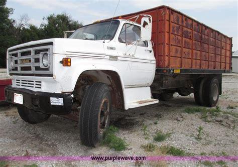 1976 gmc c6500 dump truck no reserve auction on