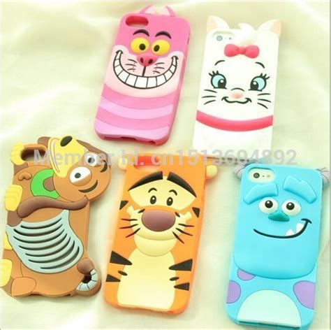 Casing Handphone Iphone 5 5s Silicone 3d Sulley Cover tigger iphone 5 reviews shopping tigger iphone 5 reviews on aliexpress