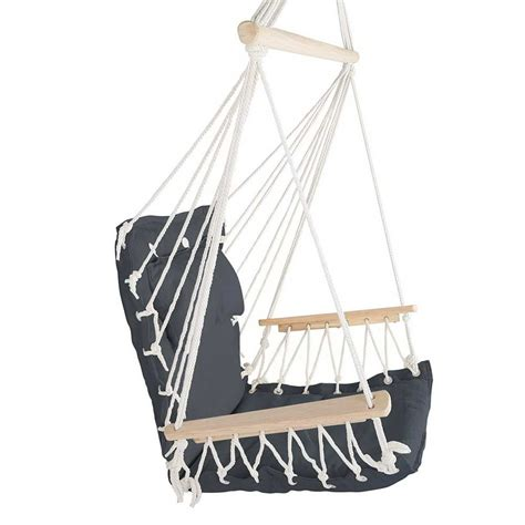 chair hammock swing hammock swing chair grey