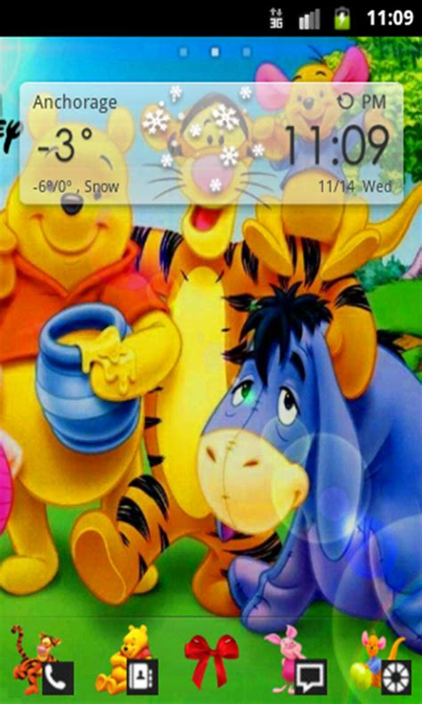 themes android winnie the pooh amazon com winnie the pooh go launcher theme appstore