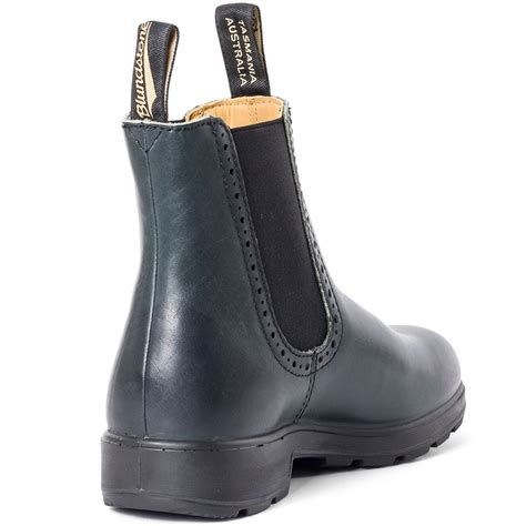 cozy blundstone chelsea boot womens boots navy