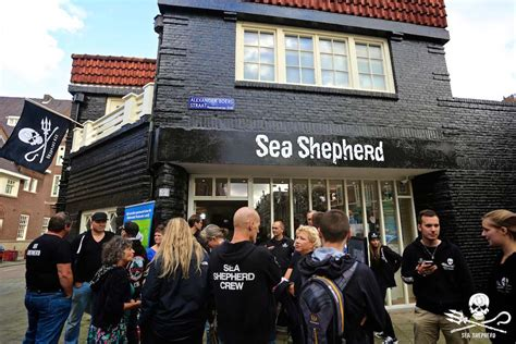 pt boat one owe nine lost the new sea shepherd global head office and merchandise store