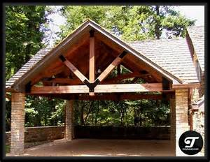timber frame carport ideas home kitchen