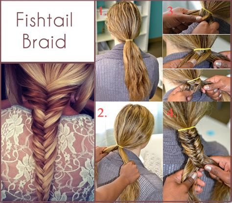 step by step written instructions for braids how to make a fishtail braid alldaychic