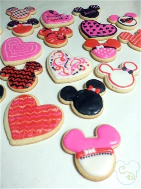 valentines mickey mouse mickey mouse s day cookies