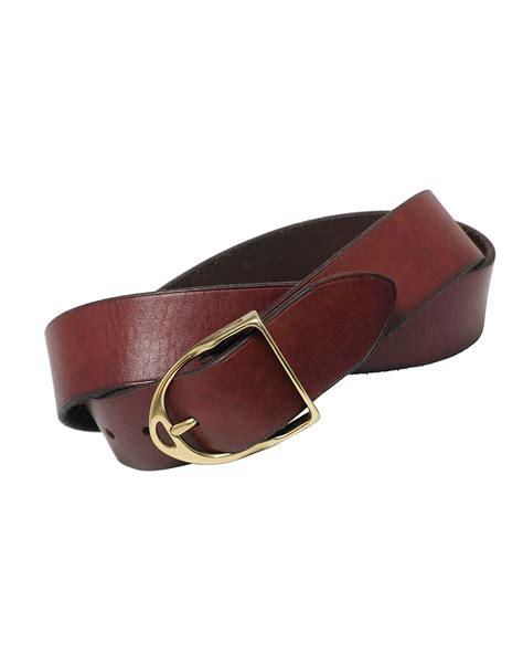 Rugged Leather Polo Ralph Lauren Quot Wilton Quot Buckle Belt Bloomingdale S