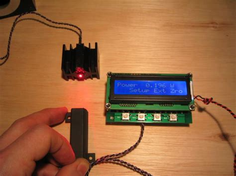 high power diode laser soldering d4thing micro hotplate controller and laser power meter display