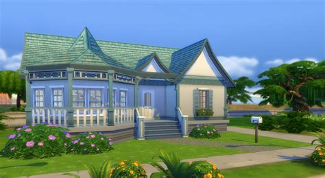 Homes And Houses Starter In The Sims 4 Sims