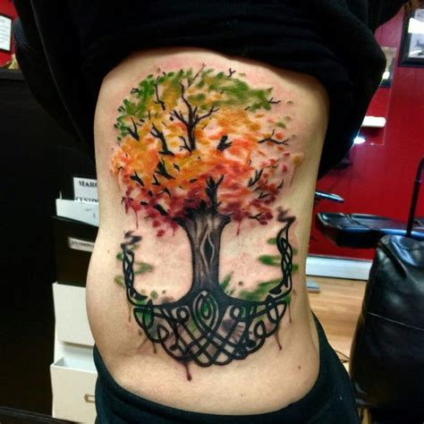 watercolor tattoos tree of life watercolor celtic tree of stuff