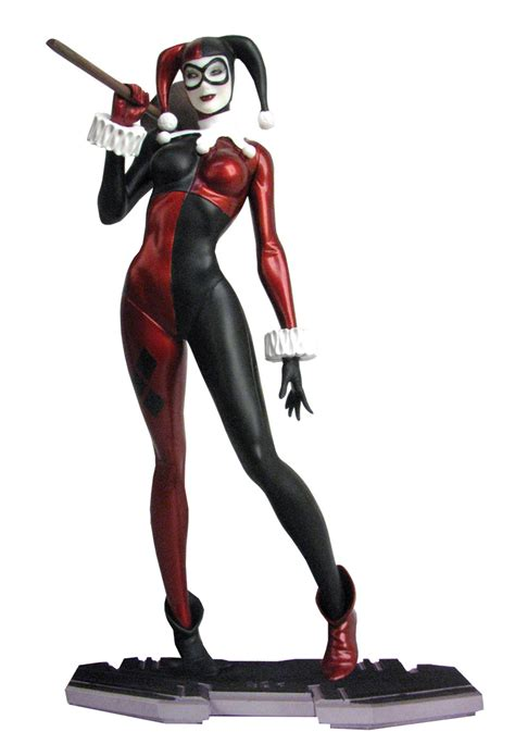 The Harlequin the harlequin of gotham joins dc comics icons statue series