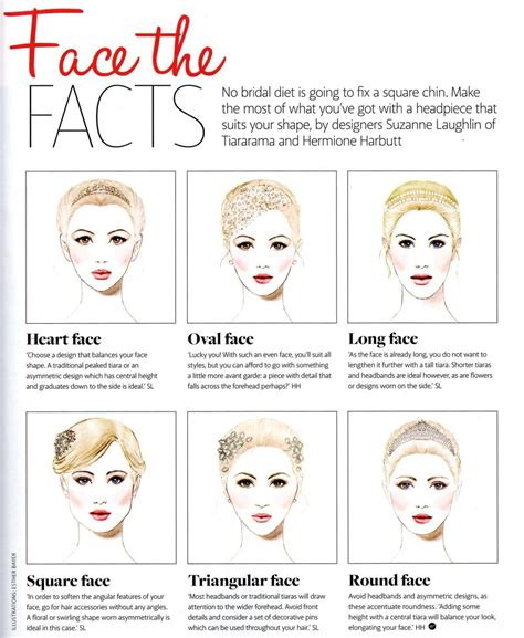 bridal hairstyles to suit face shape the best hair accessory for you face shapes perfect