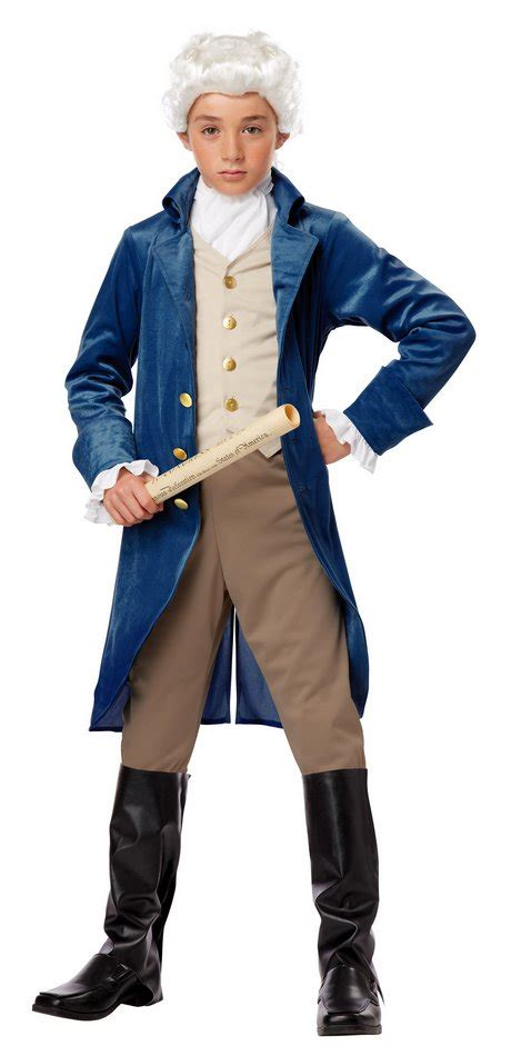 childs founding father costume george washington