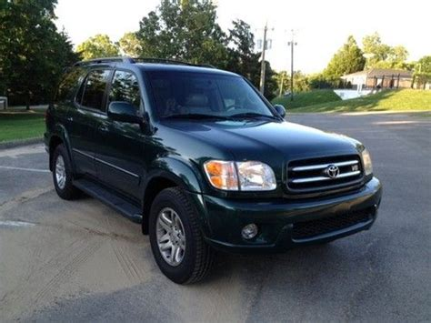 2003 Toyota Sequoia Mpg Sell Used 2003 Toyota Sequoia Limited Sport Utility 4 Door