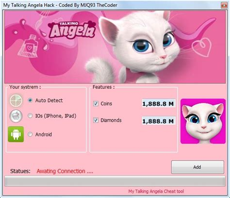 my talking my talking angela hack tool hack tool