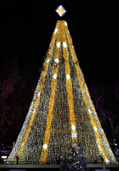 the 11 most spectacular christmas trees from around the world