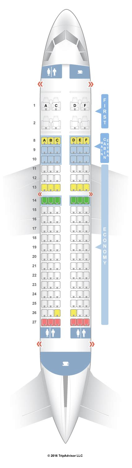 seat selection american airlines seatguru seat map american airlines airbus a319 319 v1