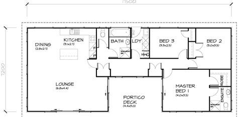 take out bed 3 to make open dining area turn bed 2 into 3 bedroom transportable homes floor plans