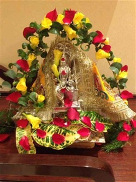 decoration for navratri at home navratri home decoration ideas mandir d 233 cor images