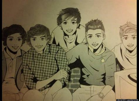 one direction painting 1d fan one direction fan 32172260 fanpop