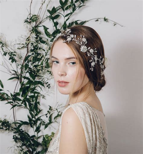Vintage Bridal Hair Sydney by Wedding Hair Sydney Wedding Hair Sydney Bohemian Bridal