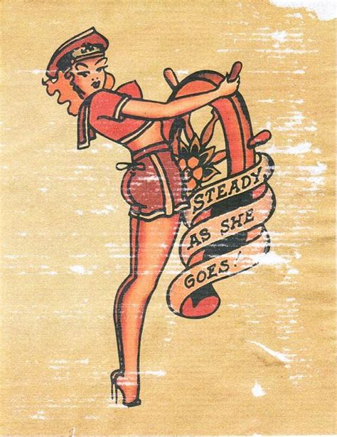 sailor jerry pin up tattoos the world s catalog of ideas