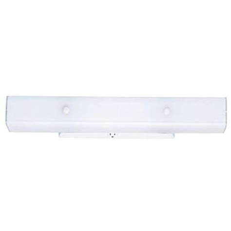 westinghouse 4 light white interior wall fixture with ceramic glass