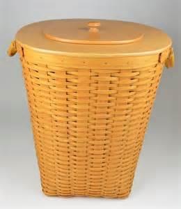 Longaberger longaberger 2001 extra large xl oval waste basket combo with protector