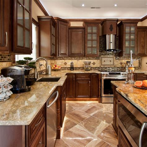 All Wood Rta Kitchen Cabinets | kitchen cabinets rta shipping oak color ideas traditional