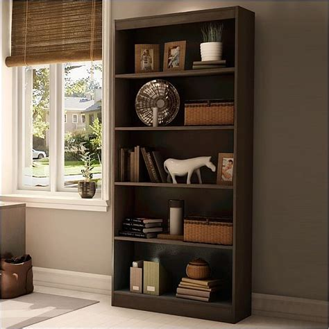 Wooden Book Shelf by The South Shore Axess Wood Bookcase