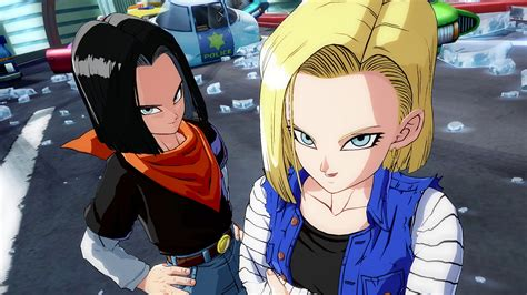 android 17 and 18 android 18 and 17 wallpaper www pixshark images galleries with a bite