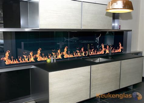 achterwand keuken led keuken achterwand met foto en led keukenglas