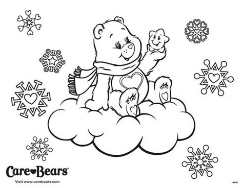 winter bear coloring page winter coloring page care bears coloring pages