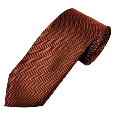 rust brown rust brown black chevron stripe patterned s tie from