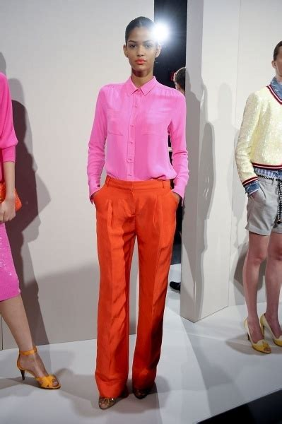 fashion s coolest clash how orange and purple became the colours 58 best ouch my eyes colour clashing images on pinterest