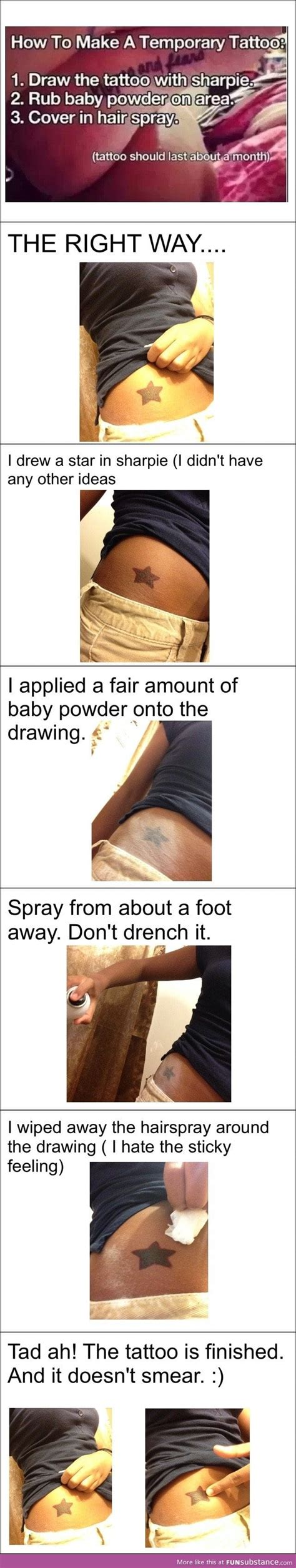 how to make a sharpie tattoo make a sharpie that lasts a month funsubstance
