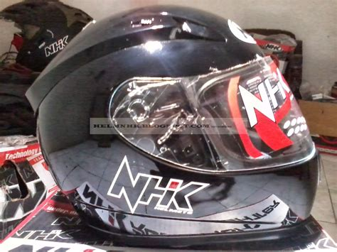 Helm Nhk Motor Cross helm nhk helm nhk n1200 solid fullface sni