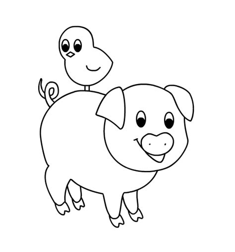 coloring pages of pig faces pig face coloring pages
