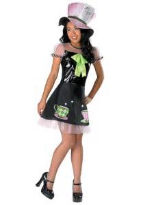 halloween costumes from halloween city girls tea time mad hatter costume
