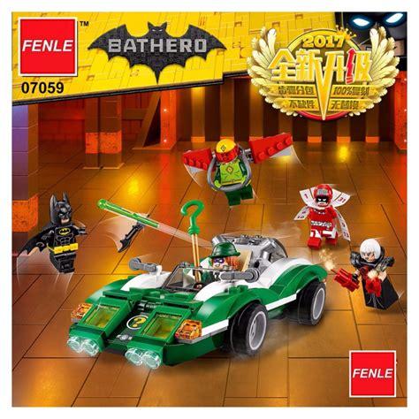 Jual Lepin 07059 Batman The Riddler Riddle Racer 2017 lepin heroes batman 07059 compatible 70903 the riddler riddle racer diy model