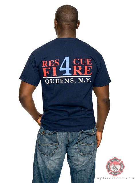 rescue shirts fdny firefighter shirts patches and pins ny rescue 4 shirt shipping of