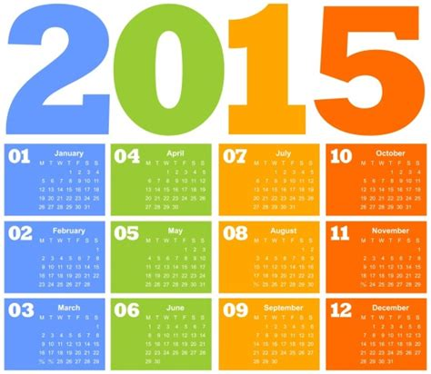 design events calendar 2015 cr 233 er un calendrier 2015 224 imprimer gratuitement blog du