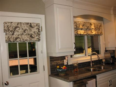 kitchen window treatment kitchen window treatments transitional kitchen